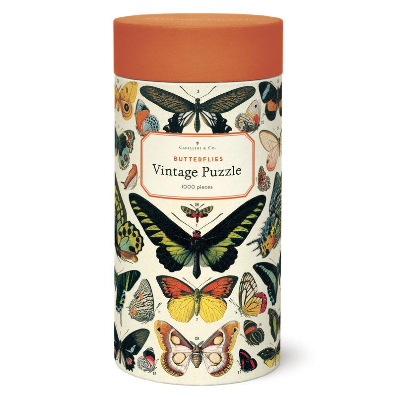 Cavallini Butterflies 1,000 Piece Puzzle
