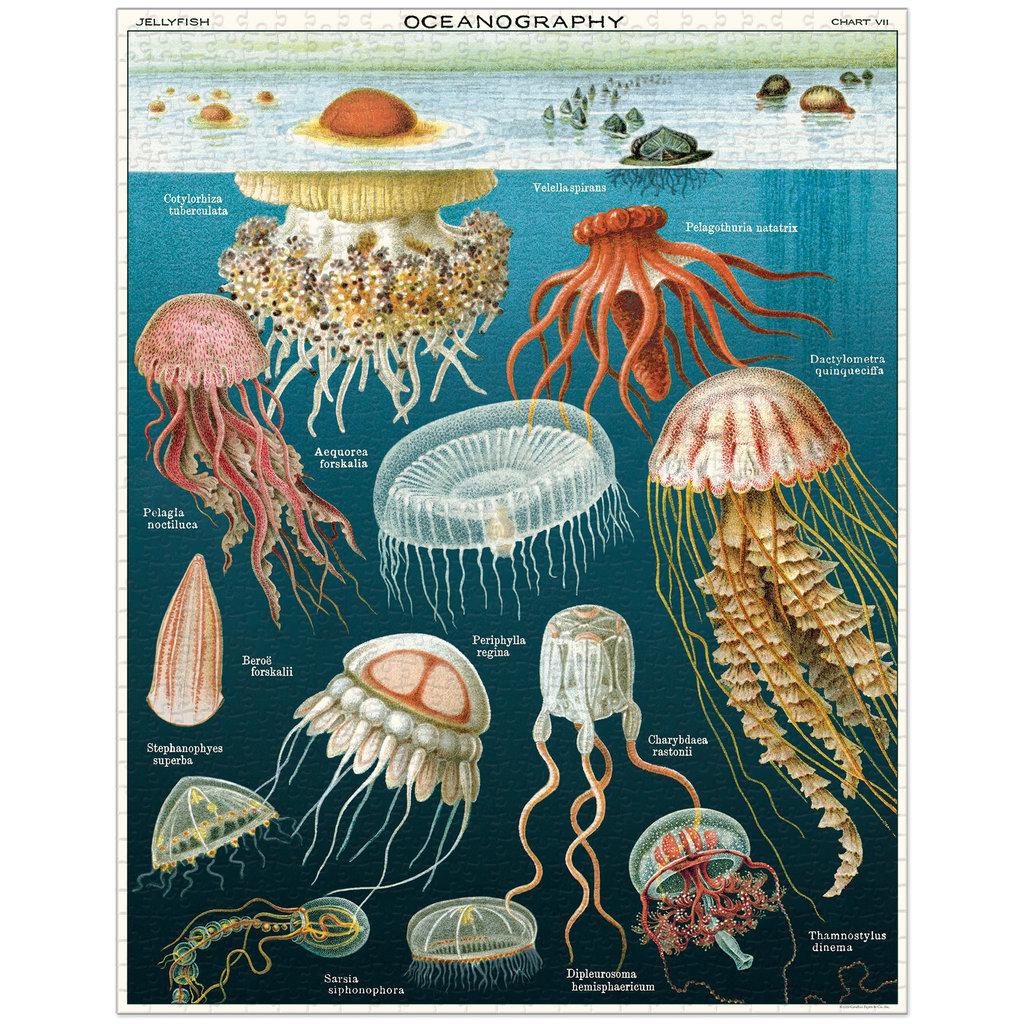 Cavallini Jellyfish 1,000 Piece Puzzle