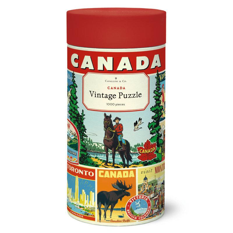 Cavallini Canada 1,000 Piece Puzzle