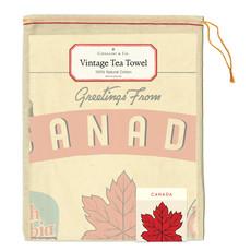 Cavallini Canada Tea Towel