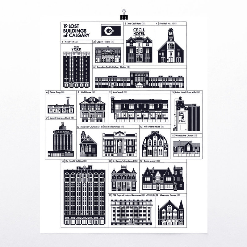 R. Biesinger Raymond Biesinger | 21 Lost Buildings of Calgary