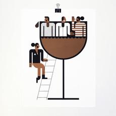 R. Biesinger Raymond Biesinger   Wine Party