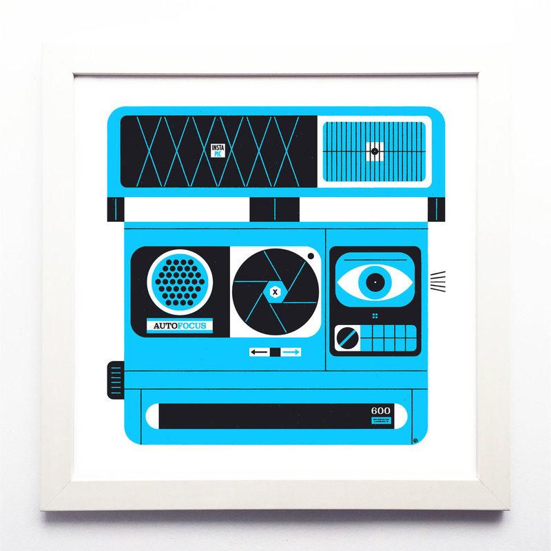 R. Biesinger Raymond Biesinger | Polaroid Blue