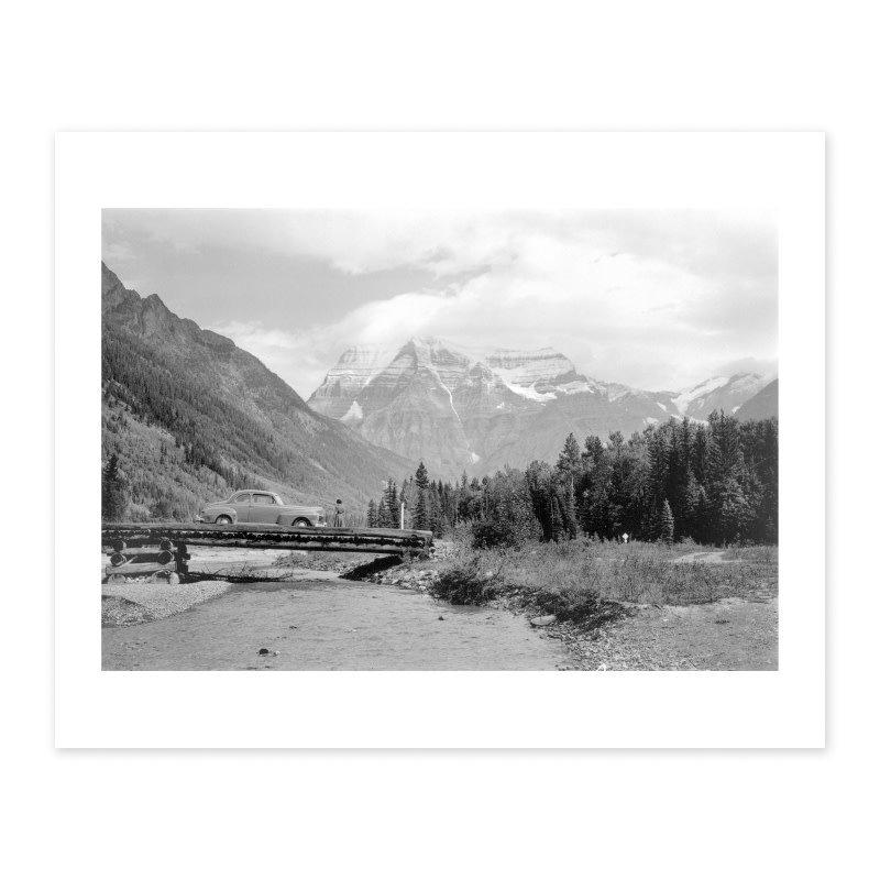 Vivid Archives Banff Jasper Highway 1951