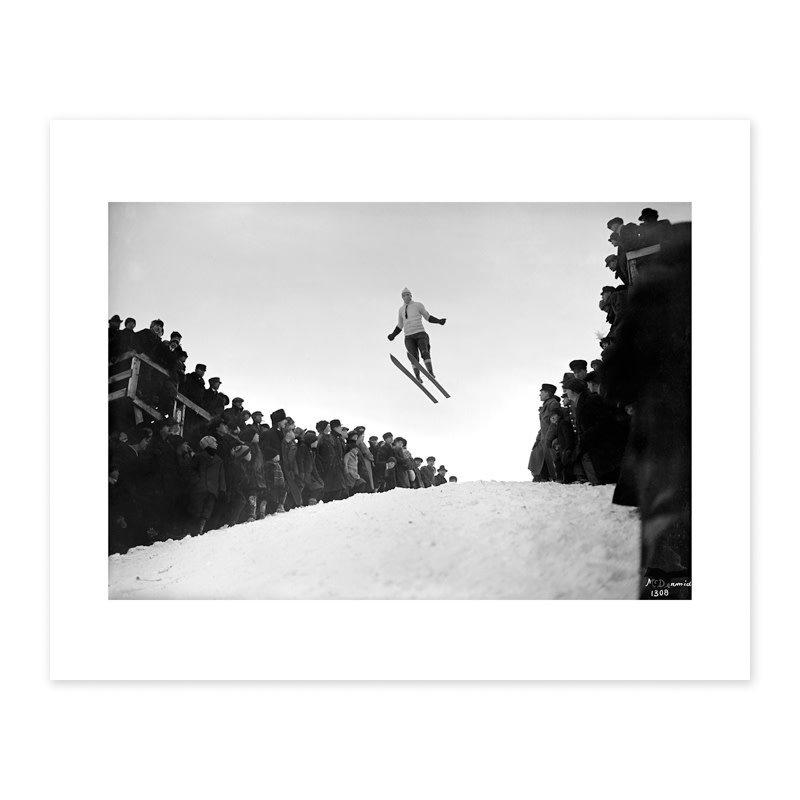 Vivid Archives Connors Hill Ski Tournament 1914