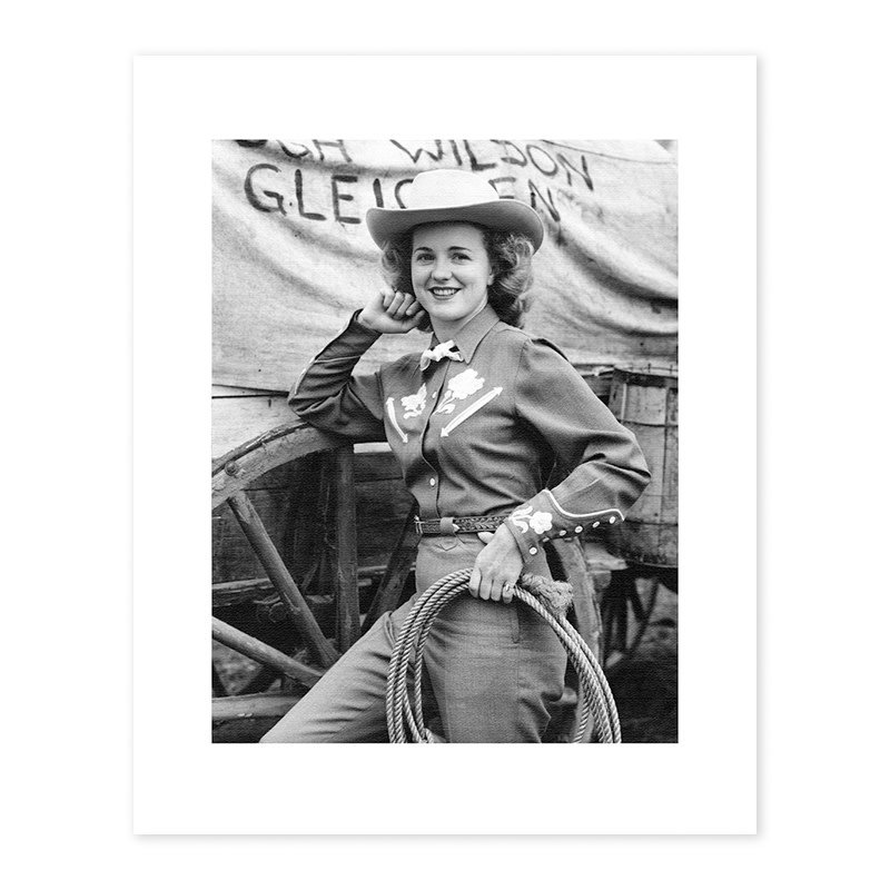 Vivid Archives First Stampede Queen, 1946