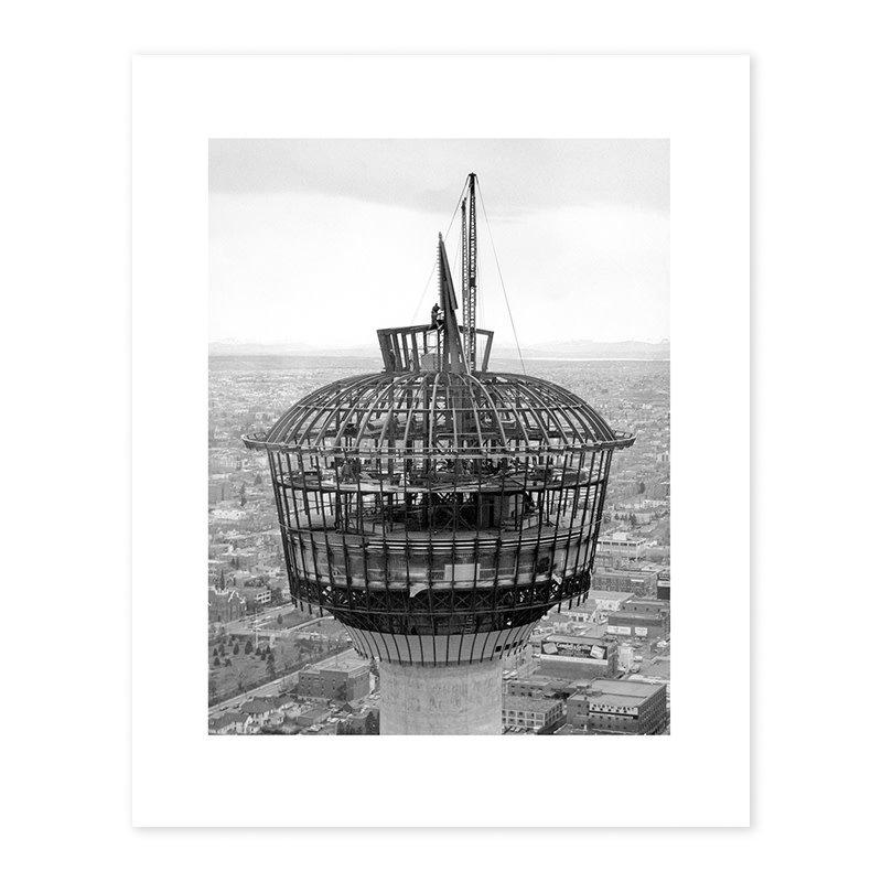 Vivid Archives Husky Tower Needle Installation, 1967