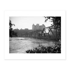Vivid Archives Low Level Bridge With Train 1915