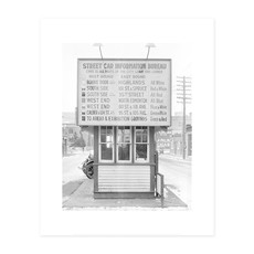 Vivid Archives Streetcar Information Bureau. 1923