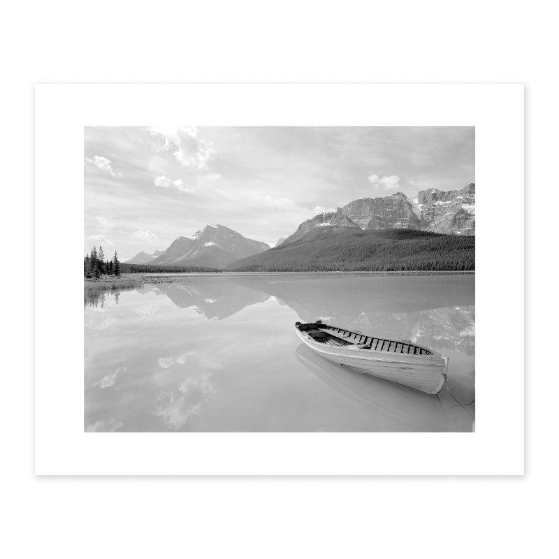 Vivid Archives Upper Waterfowl Lake August 1957