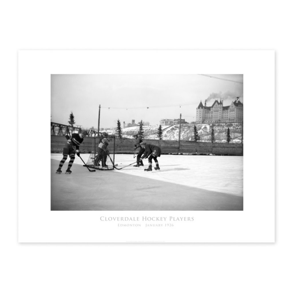 Vivid Archives Cloverdale Hockey Players 1926 Poster