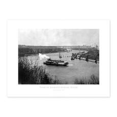 Vivid Archives North Saskatchewan River 1913 Poster