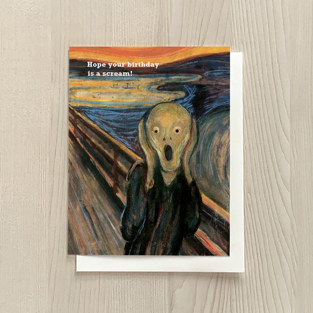 Vivid Print Scream