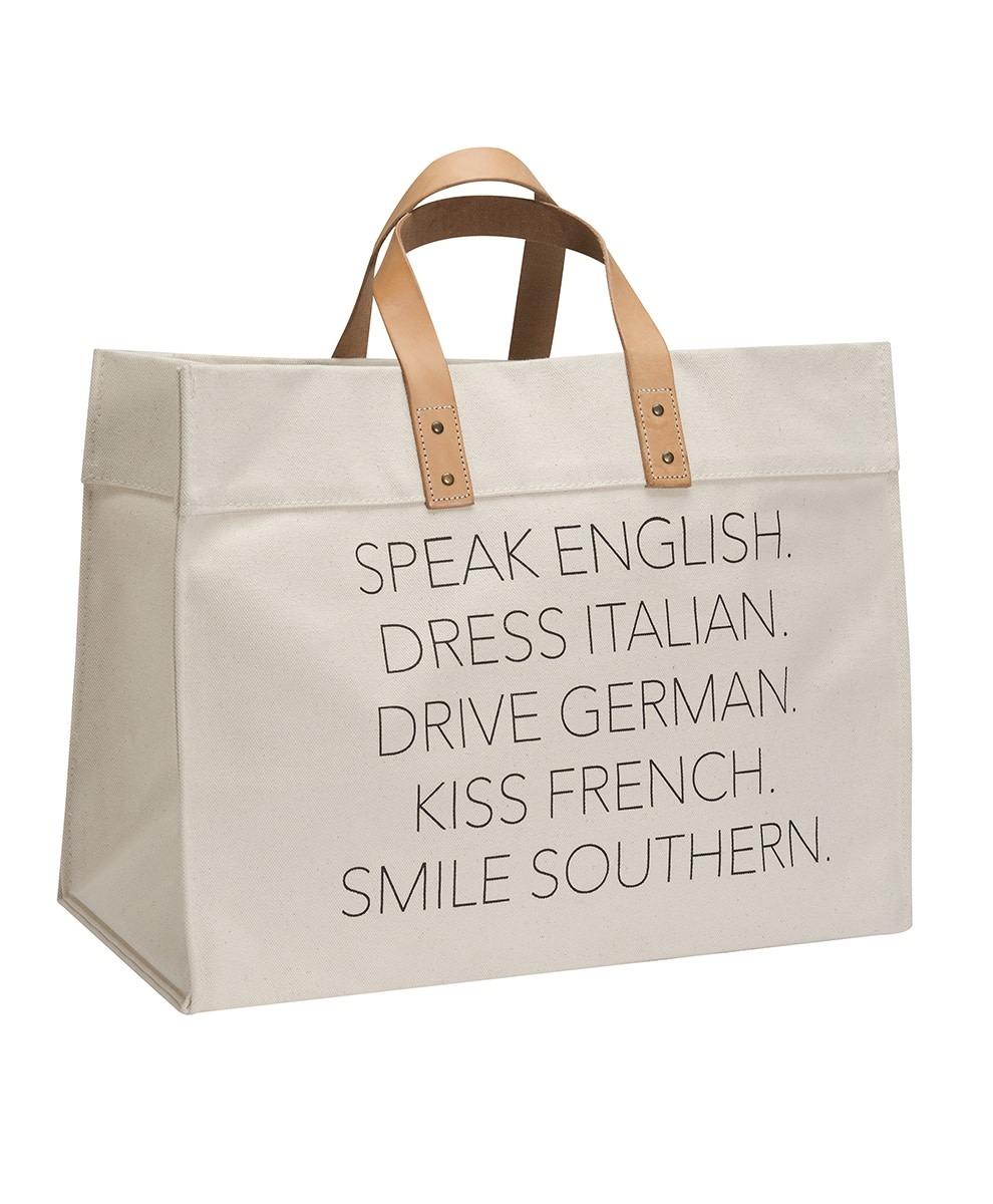 Canvas Travel Tote