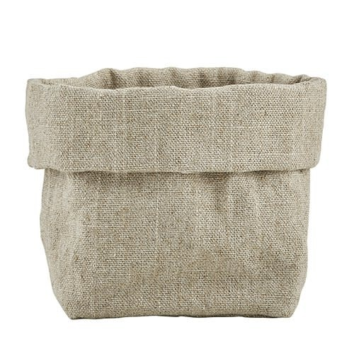 French Linen Pouch