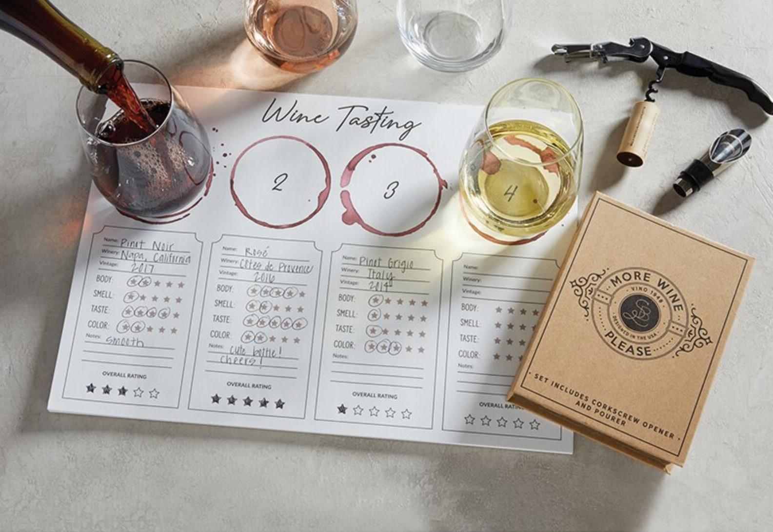 Wine Tasting Place Mat - 24pk