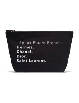 I Speak Fluent French - Pouch