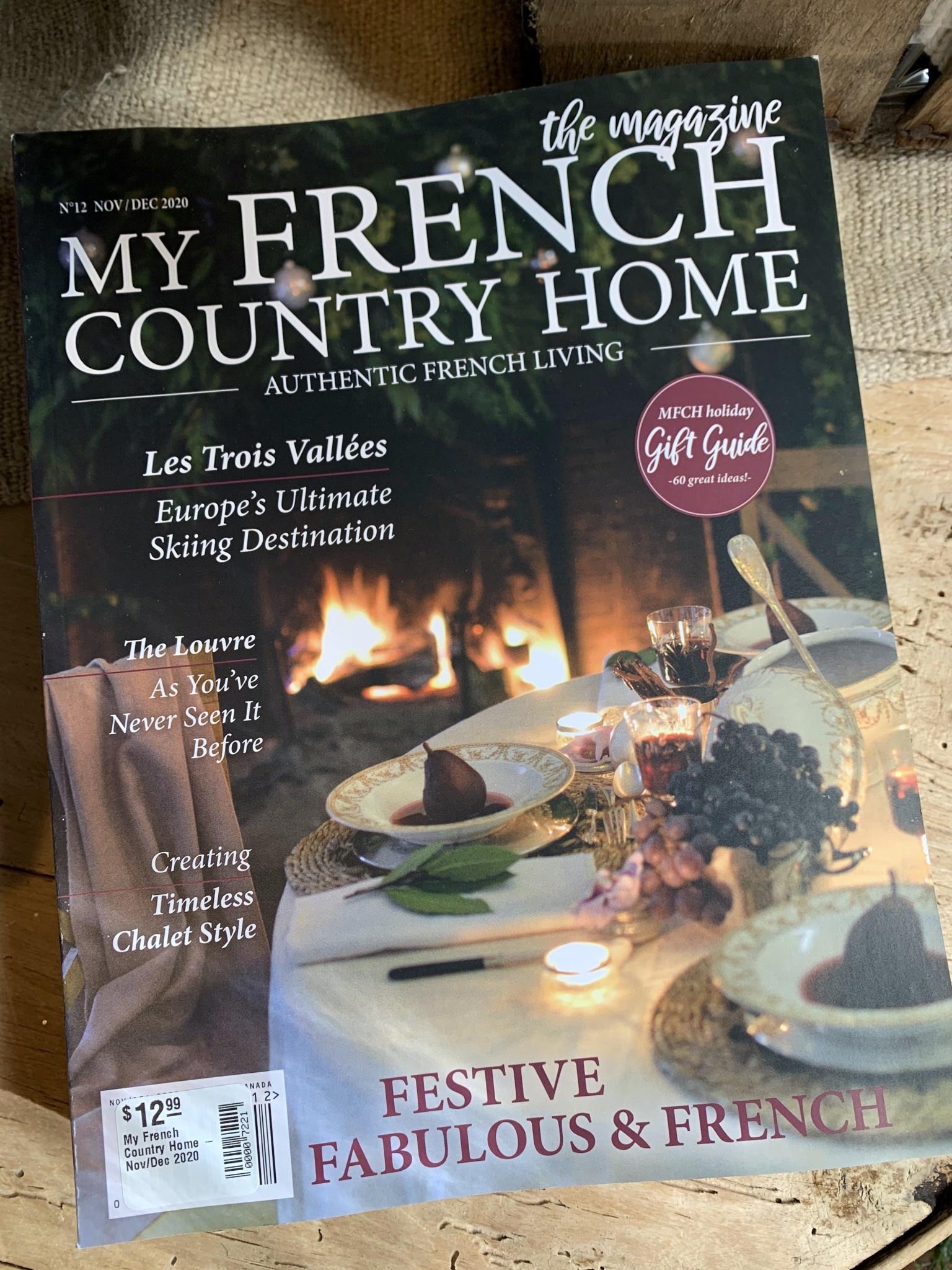 My French Country Home Magazine Nov/Dec 2020