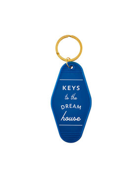 Keys to the dream house keychain