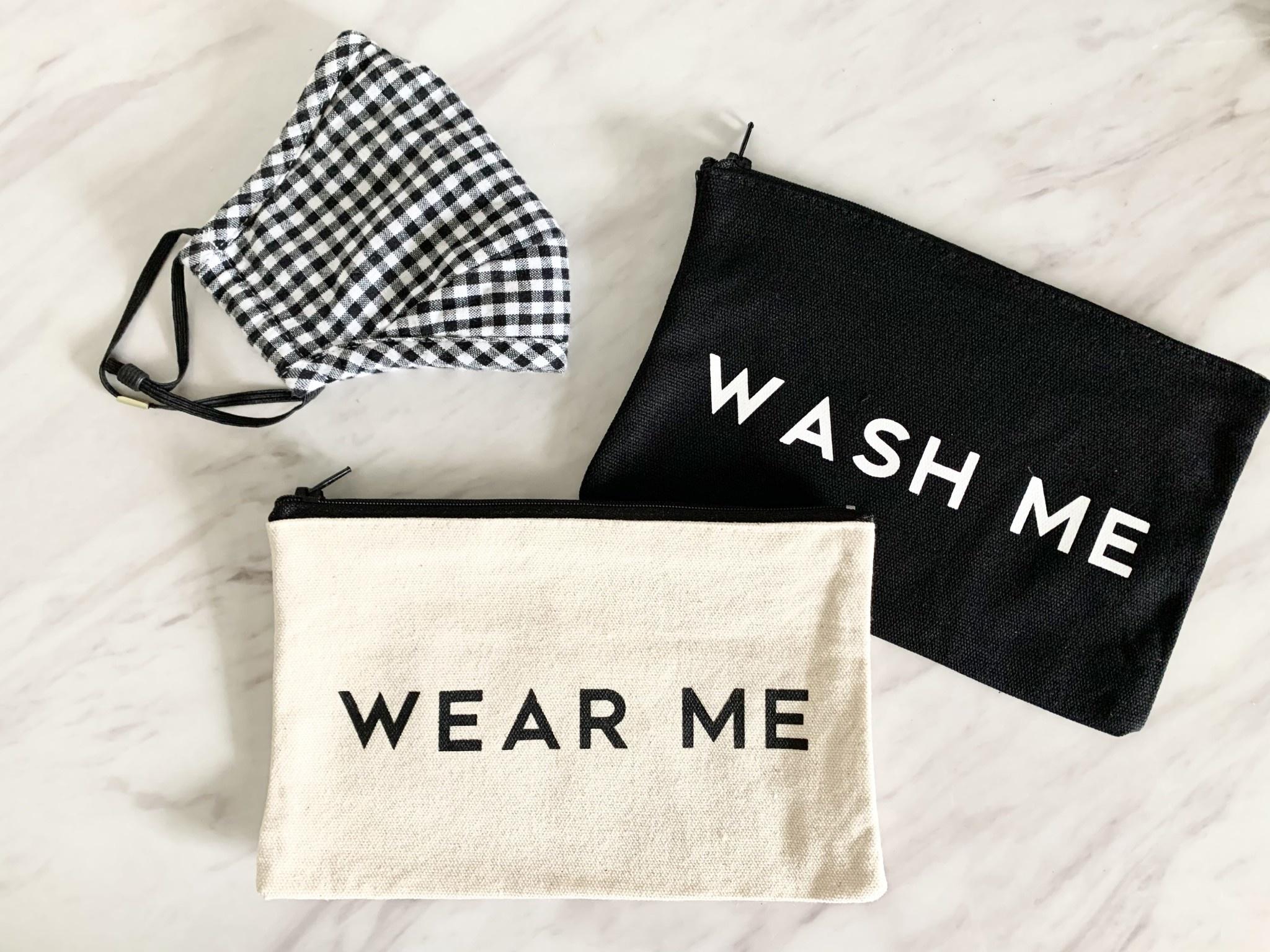 Wash Me & Wear Me - Face Mask Pouches