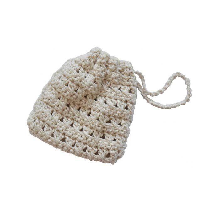 Knitted Soap Sock