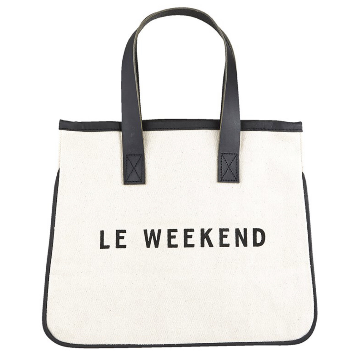 Le Weekend Canvas Tote