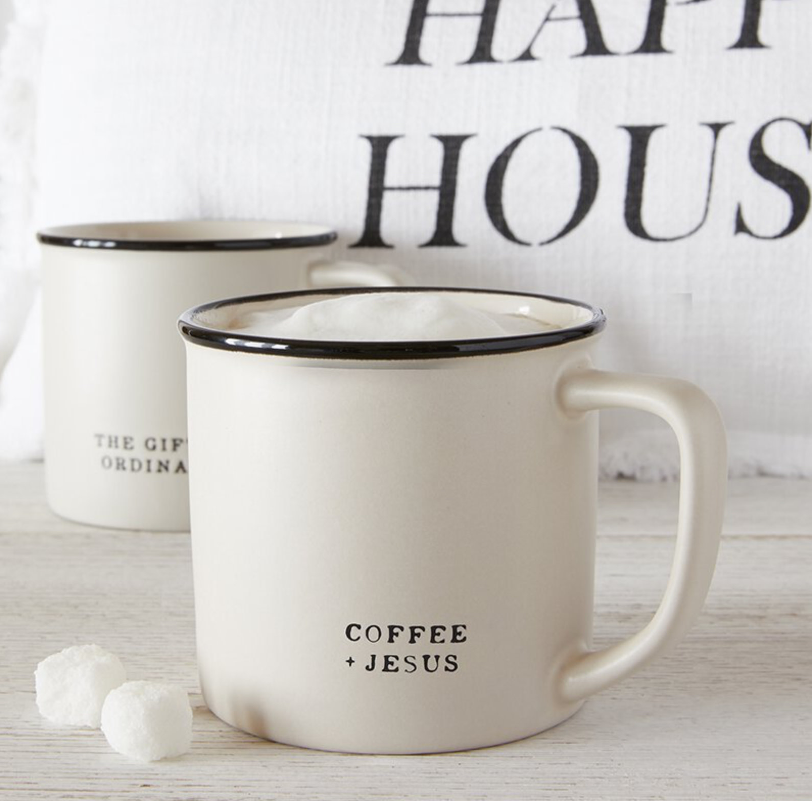 Coffee + Jesus Mug