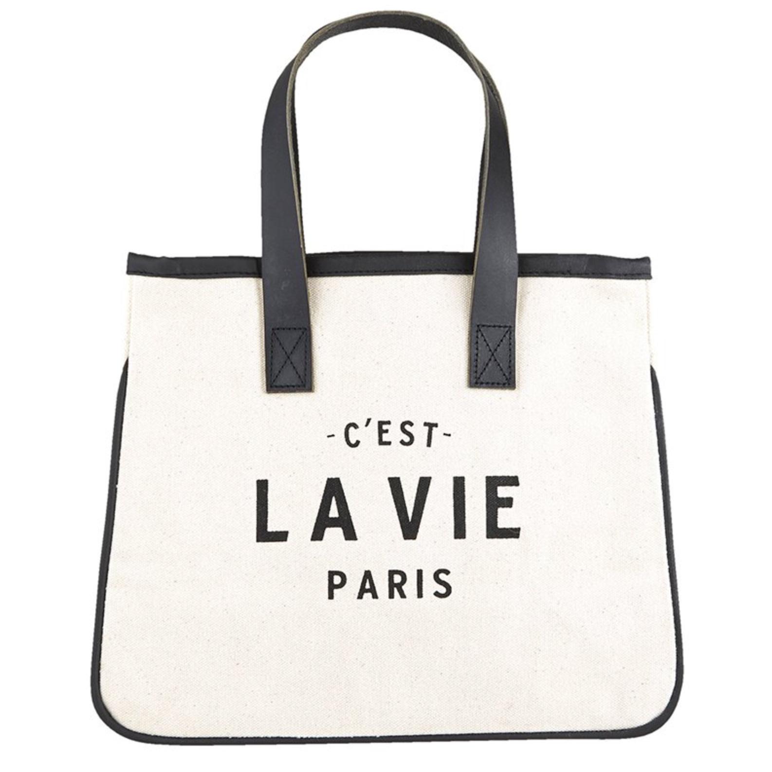 C'est La Vie Paris Tote