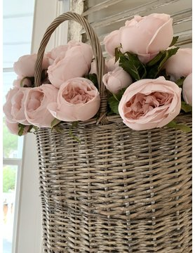 Cabbage Rose Bouquet - Ballerina Pink