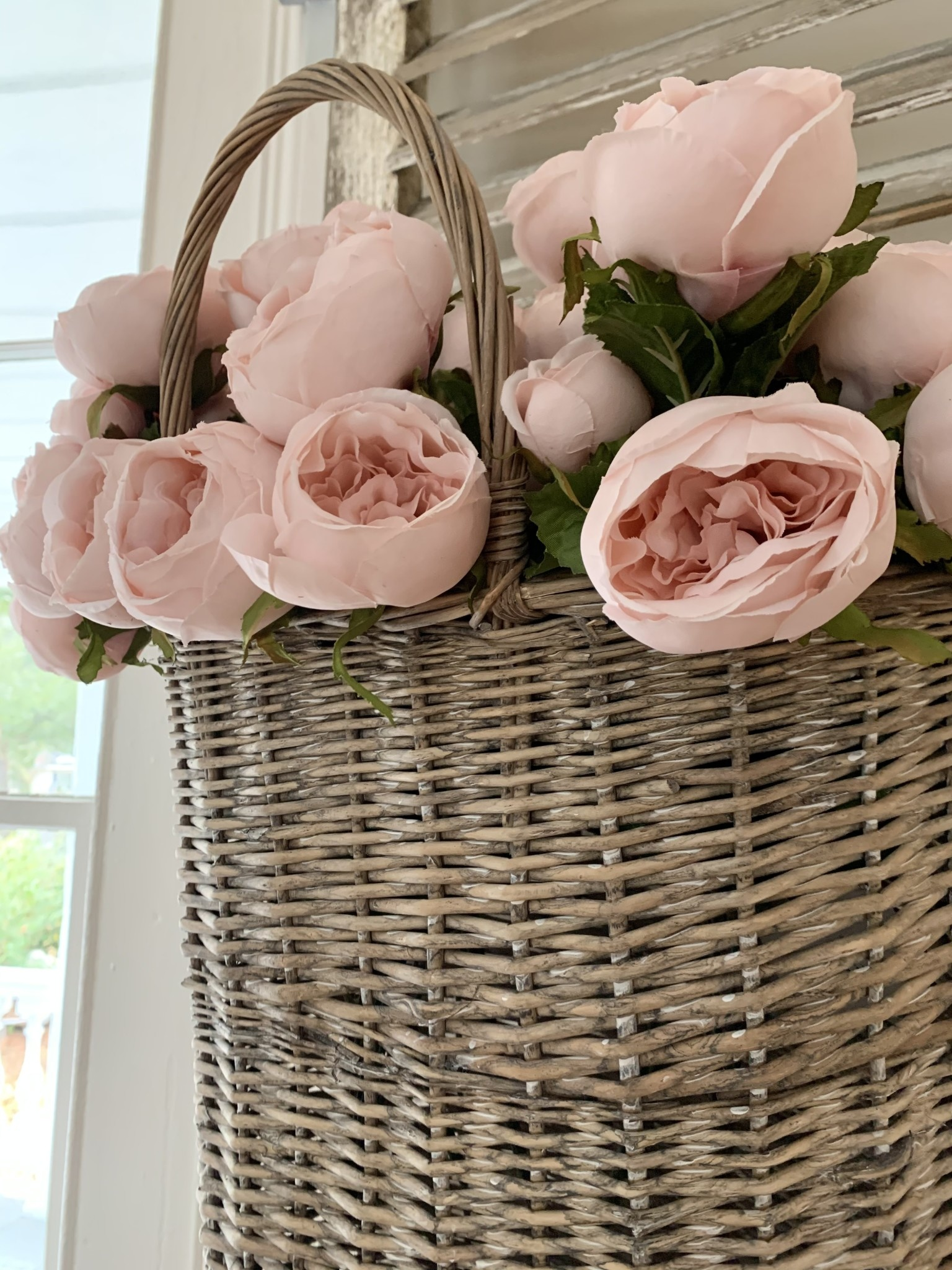 Cabbage Rose Bouquet - Ballerina Pink