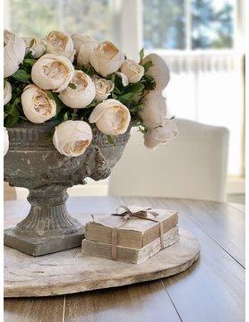 Vintage Parchment Cabbage Rose Bundle
