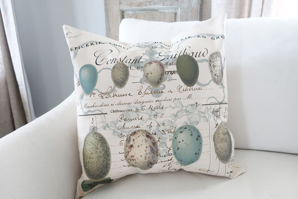 French Eggs Pillow - Cover Only