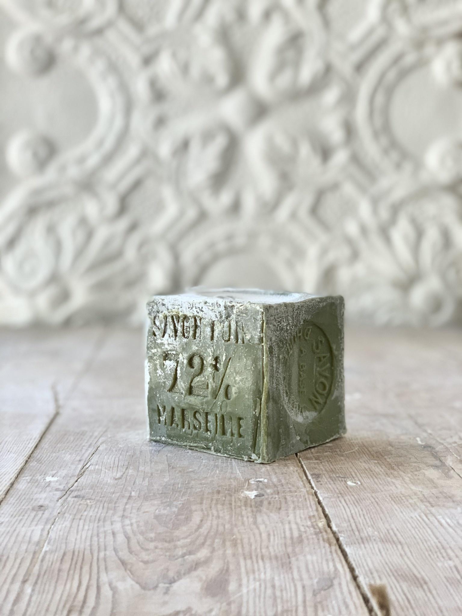 Savon de Marseille 600 g - Olive Oil Soap - Cube