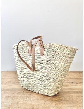 Double Handle French Market Basket - Light