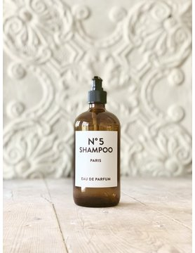 French Reusable Glass Shampoo Bottle