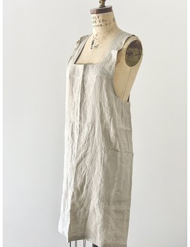 French Linen Pinafore Apron