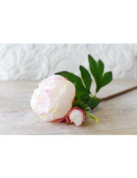 Vintage Peony Stem - Double bloom