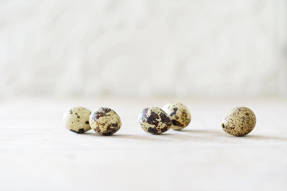 Natural Quail Egg Shells