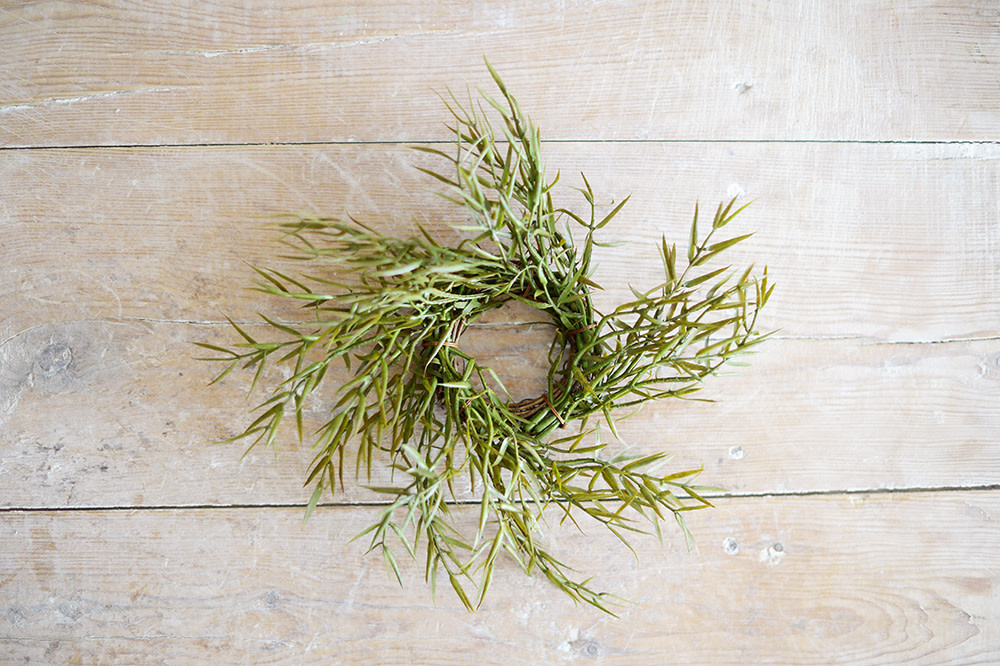 Rosemary Candle Ring