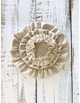 Reusable Linen Bowl Covers - Set of 3