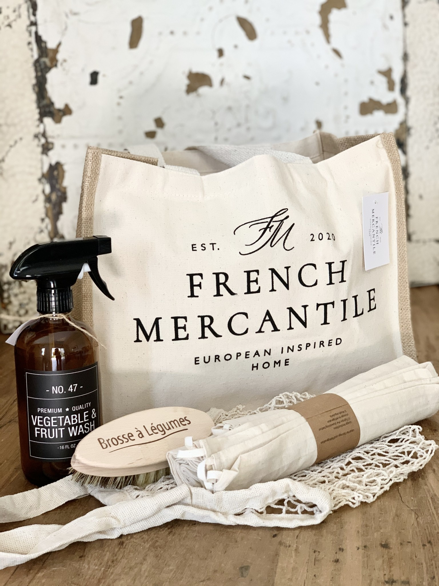 French Mercantile Farmers Market Essentials Kit