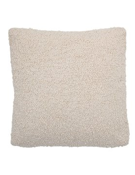 20x20 Woven Cream Pillow Cover