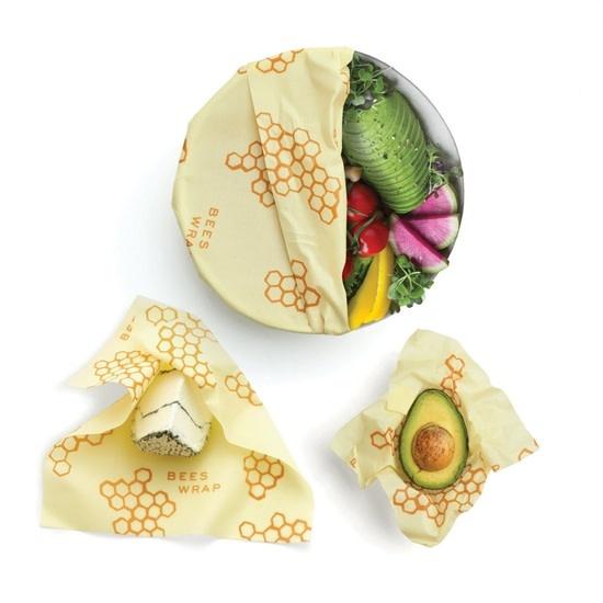 Bee's Wrap - Set of 3 Sizes Honeycomb Print
