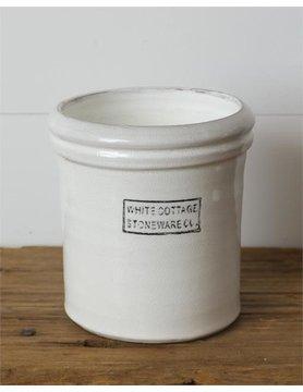 White Cottage Stoneware - Large