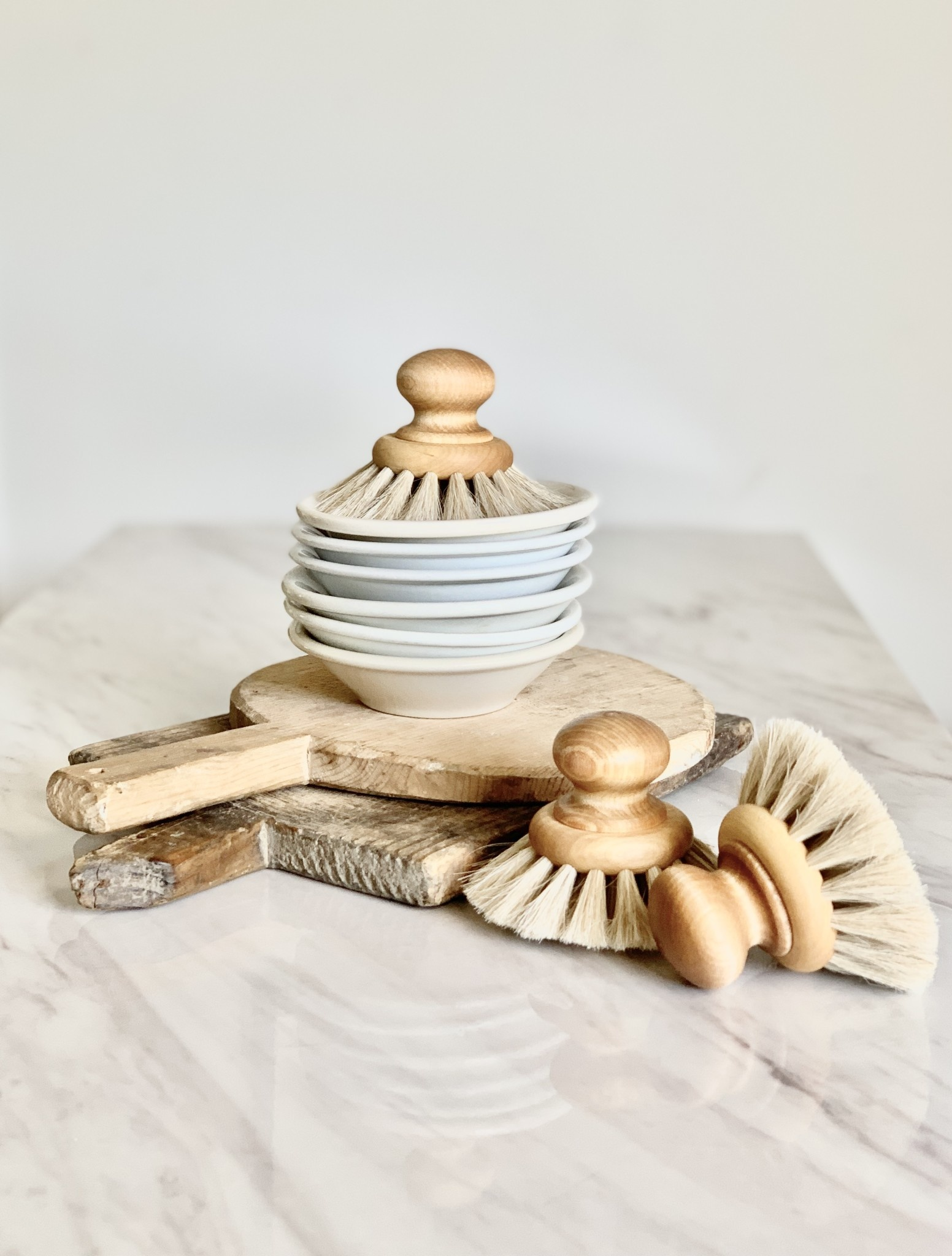 Maple Dish Brush with Knob
