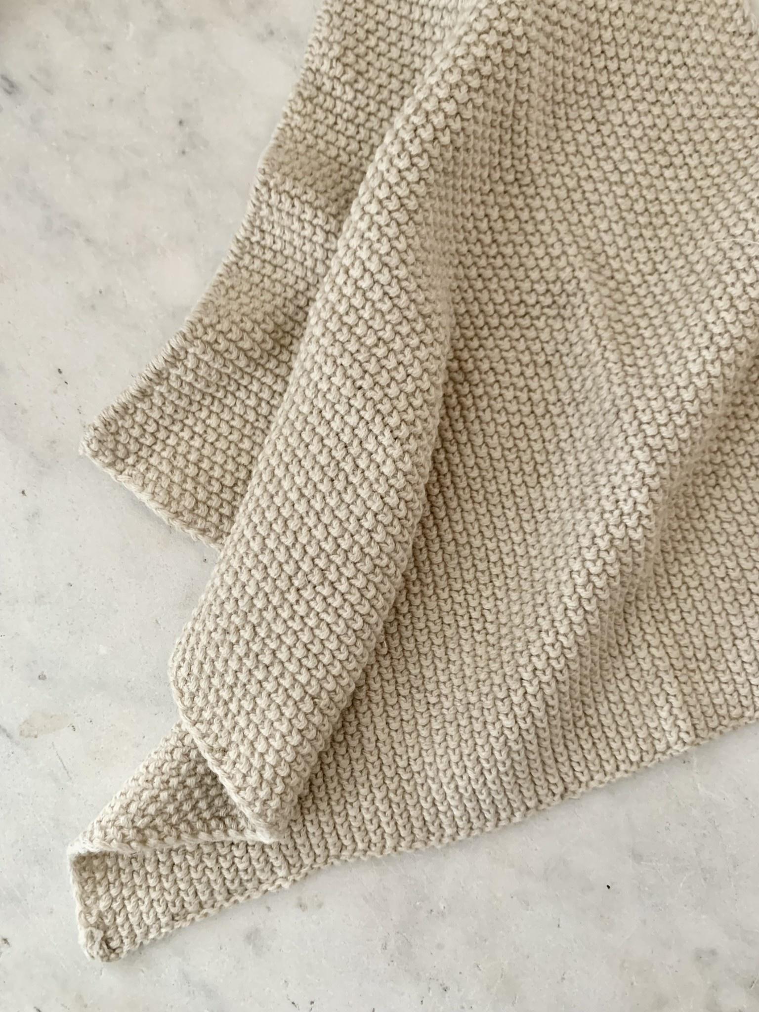 European Dish Cloth - Natural