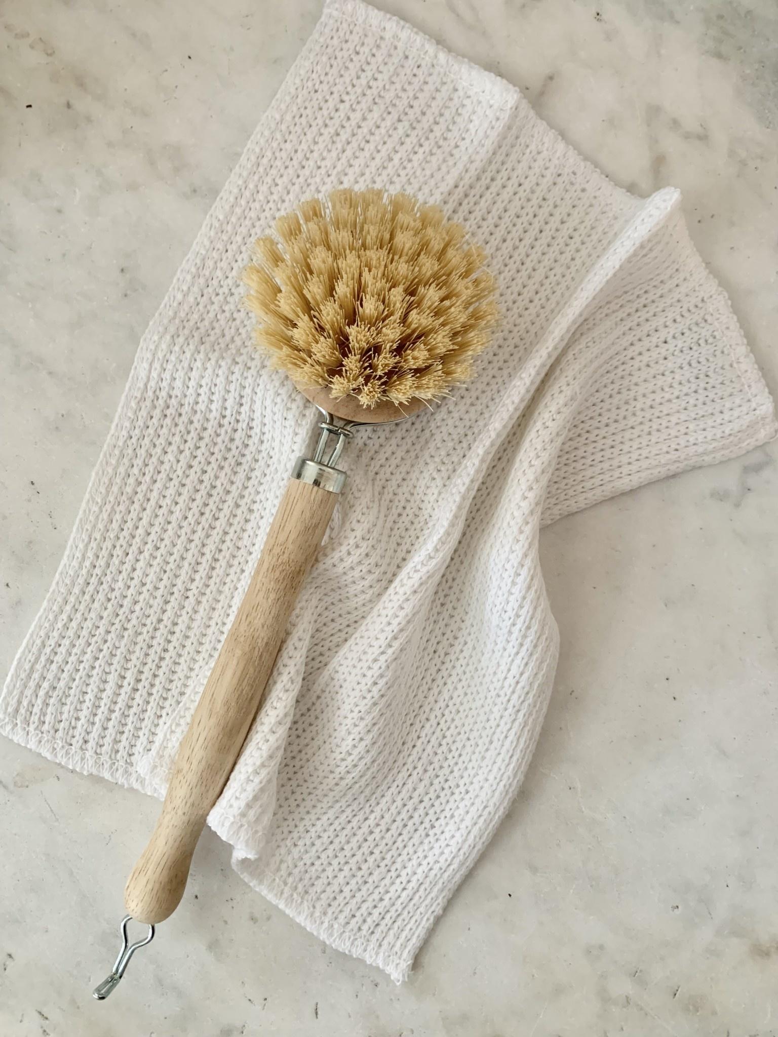 European Dish Cloth - White