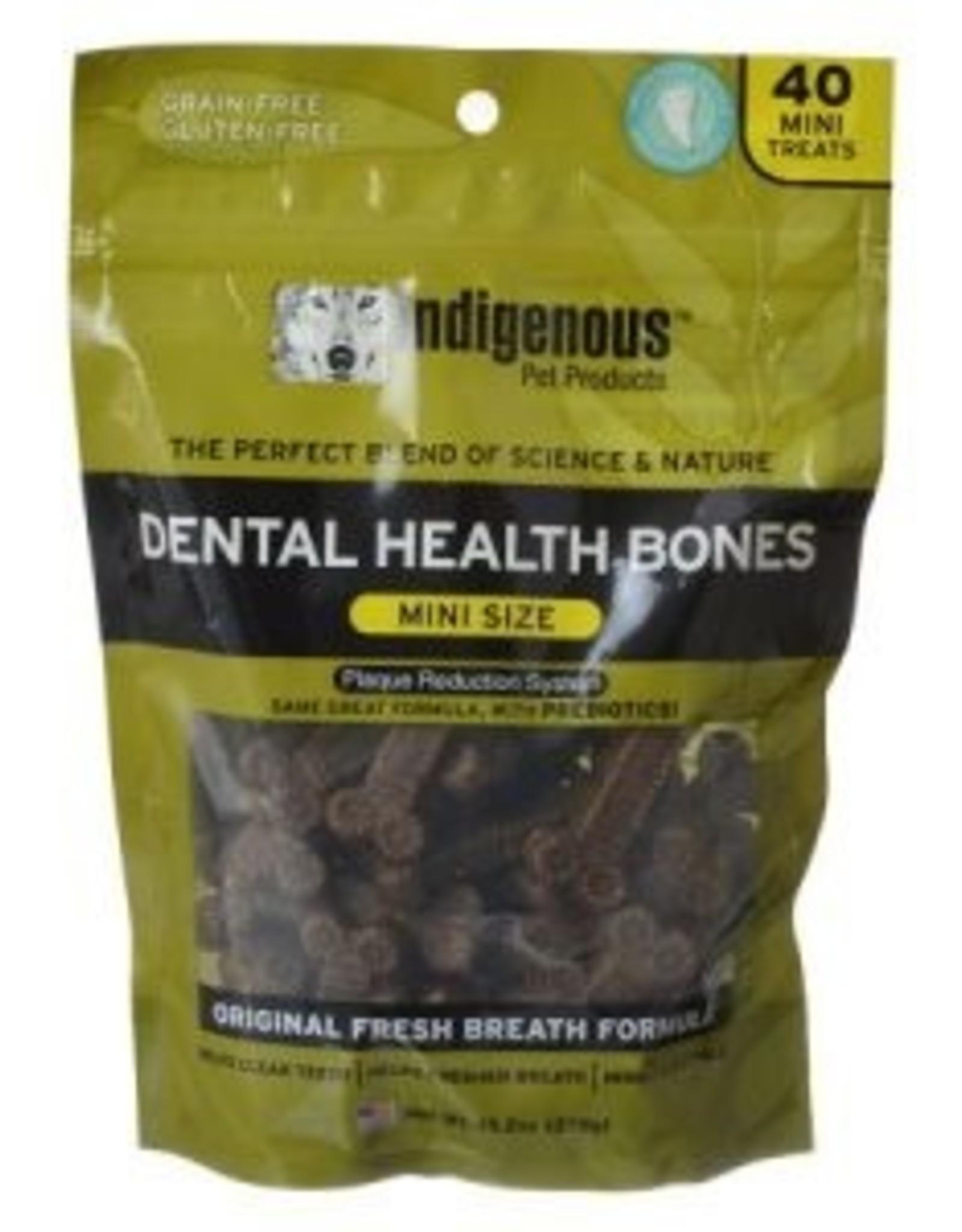 Indigenous Pet Products Indigenous Dental Health Bones Mini Sz