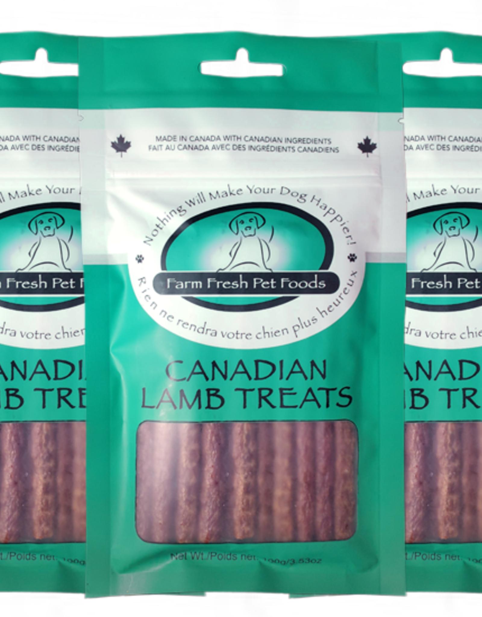 Farm Fresh Farm Fresh Canadian Lamb Treats 100g