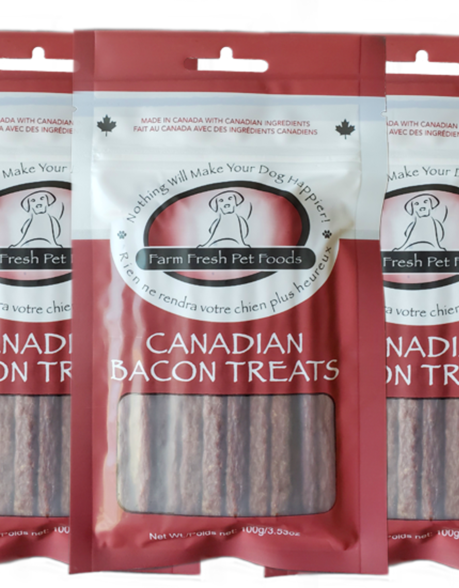 Farm Fresh Farm Fresh Canadian Bacon Treats 100g